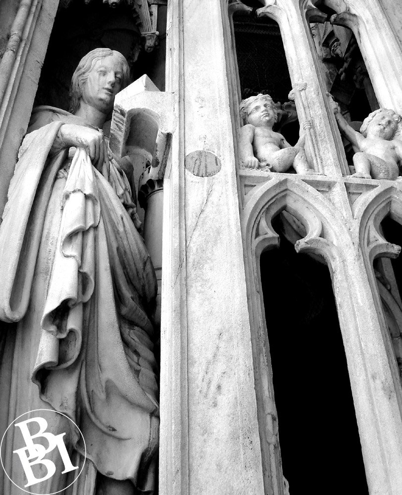 Carved figures, Cathedral of Milan