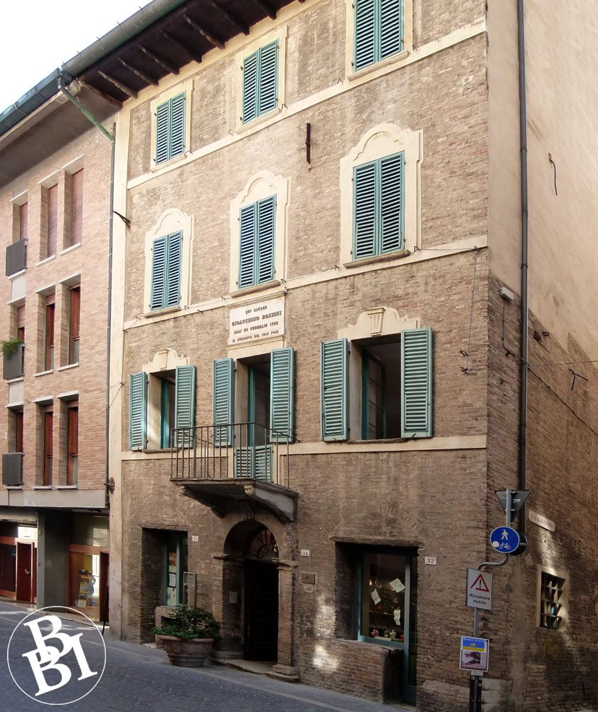 The four-storey Casa Rossini