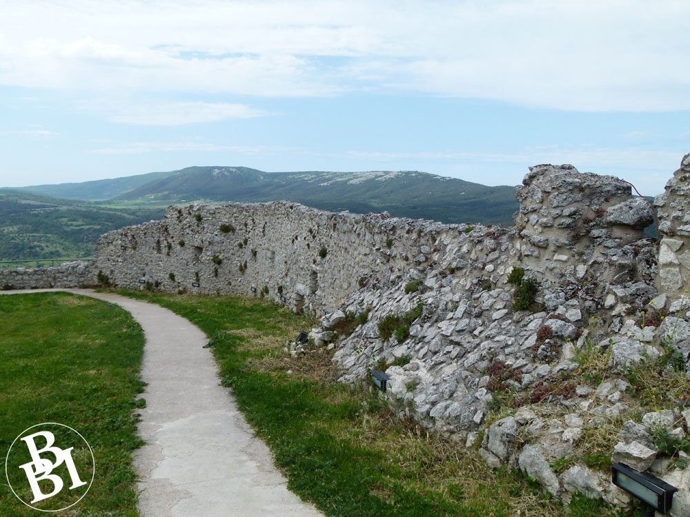 The old castle wall