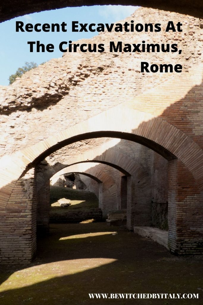 Archways at the Circus Maximus