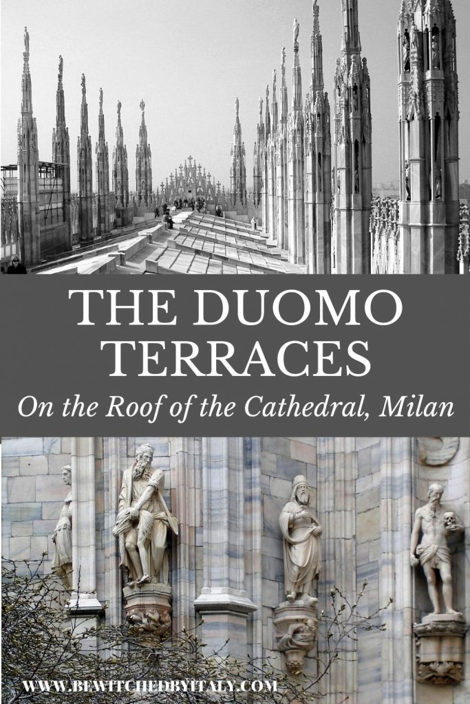 Pinnable image - the Duomo Terraces and some marble carvings