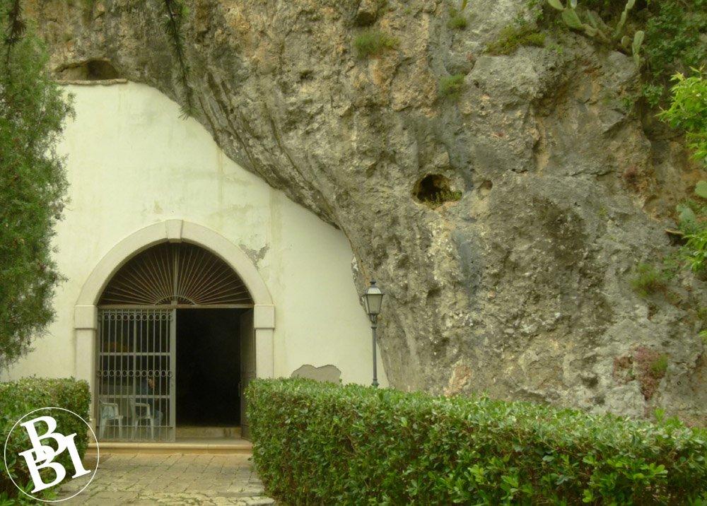 Doorway into the rockface