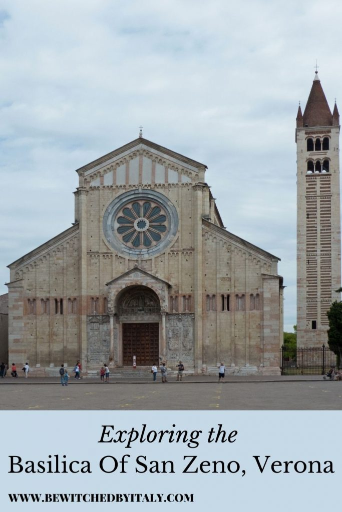 Pinnable image of San Zeno Verona - the basilica and the bell tower