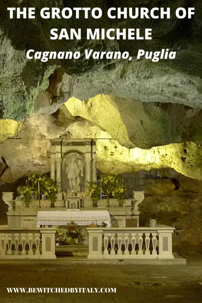 Altar of the Grotto Church at Cagnano Varano
