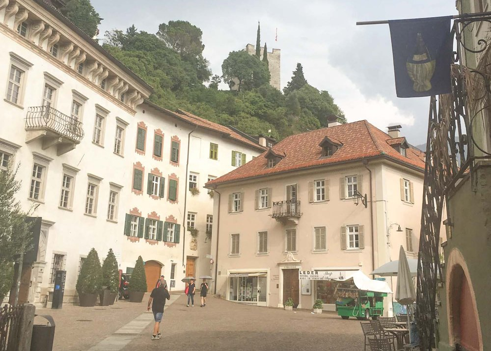Exploring Merano - buildings of the old town