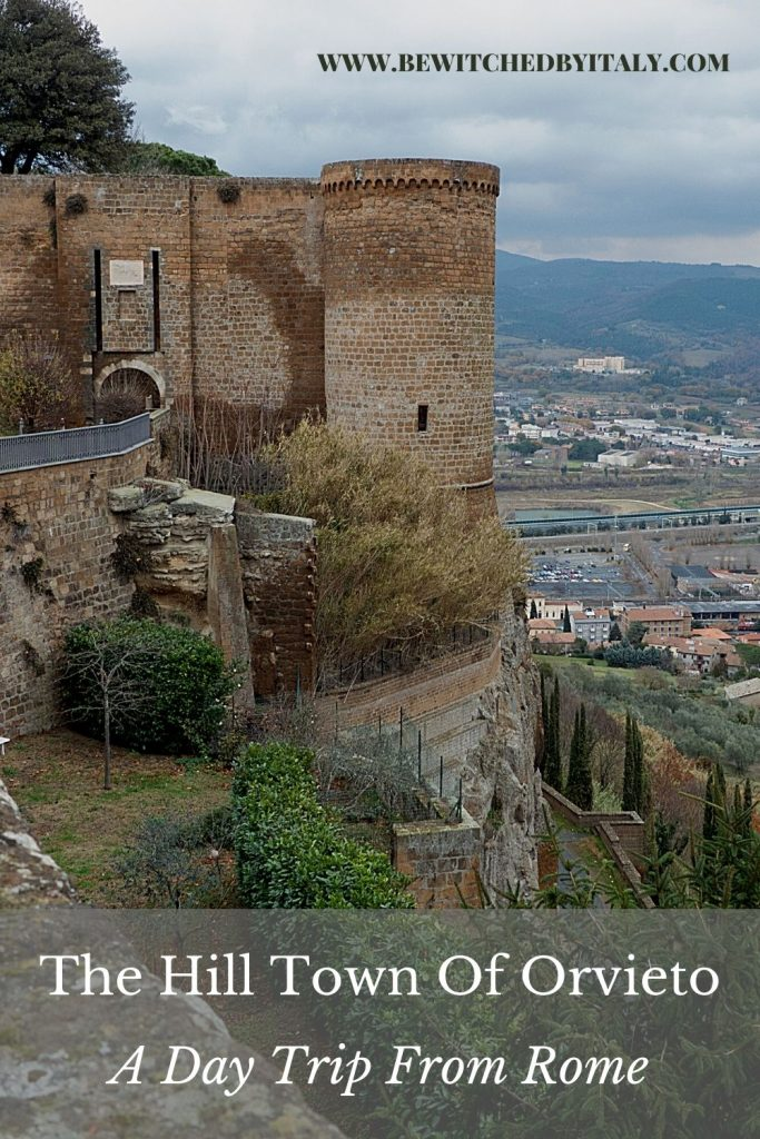 Pinnable image: a day trip to Orvieto