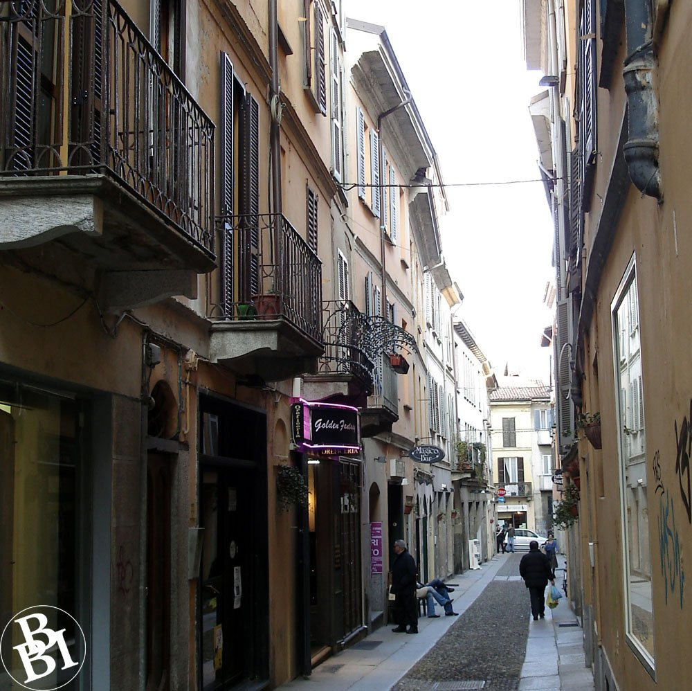 You could spend a day in Pavia wandering the old narrow streets
