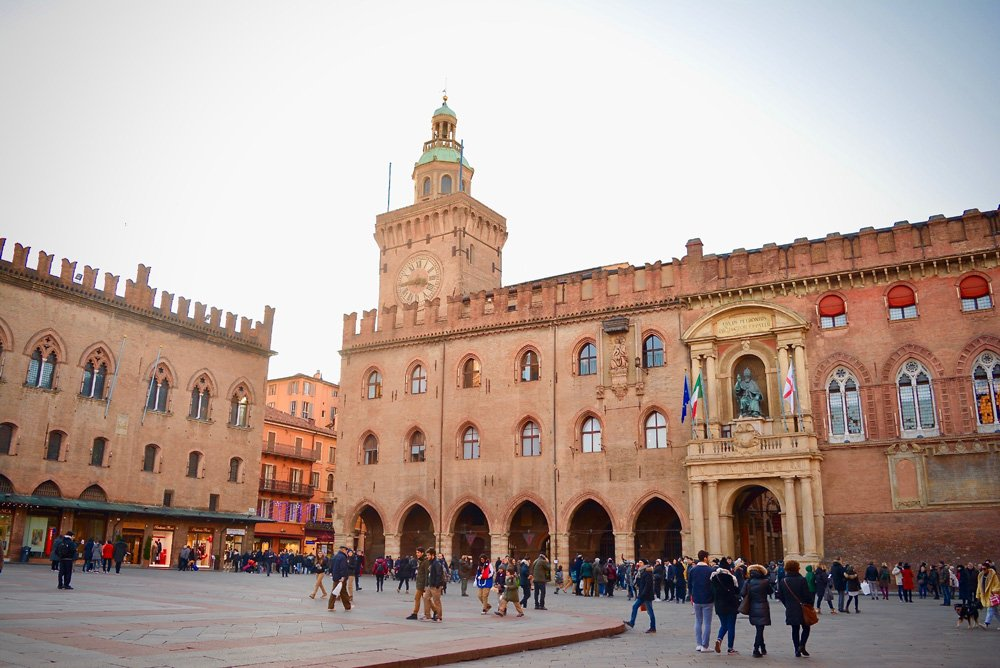 Buildings of the Piazza Maggiore