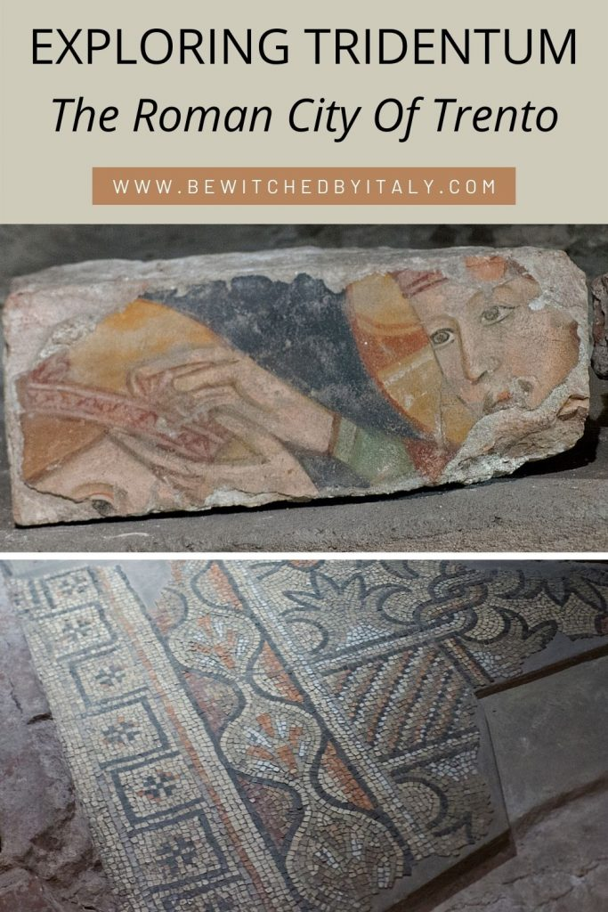 Roman art and mosaic flooring from Tridentum