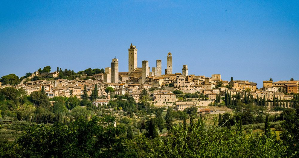 Hill town of San Gimignano