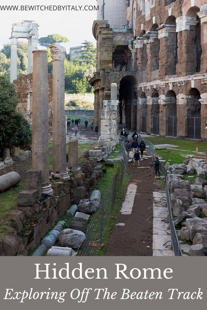 Pinnable image of hidden Rome - remains of the Teatro di Marcello