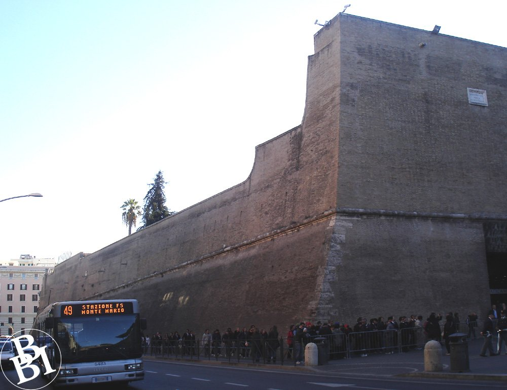 Outside of the Vatican walls