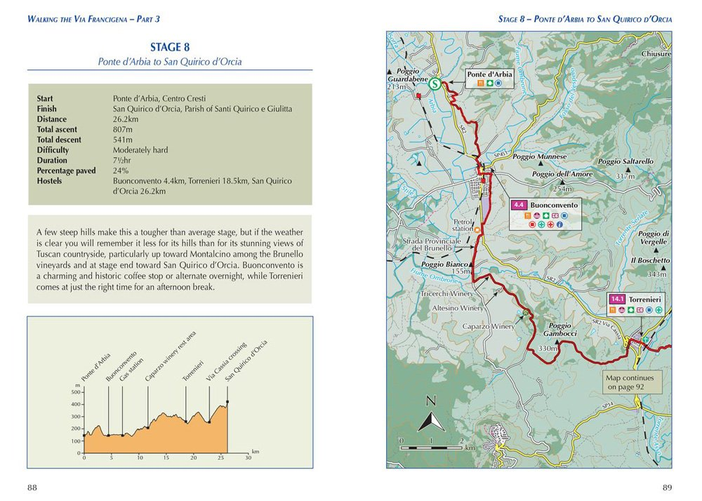Sample pages with map