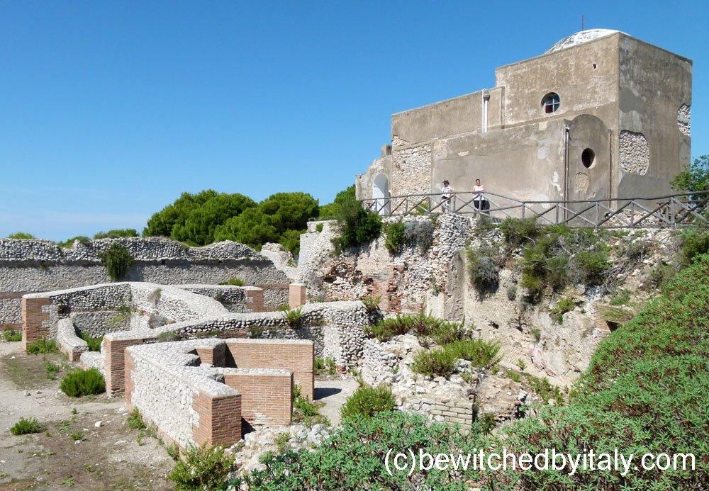 Ruins of the Roman villa