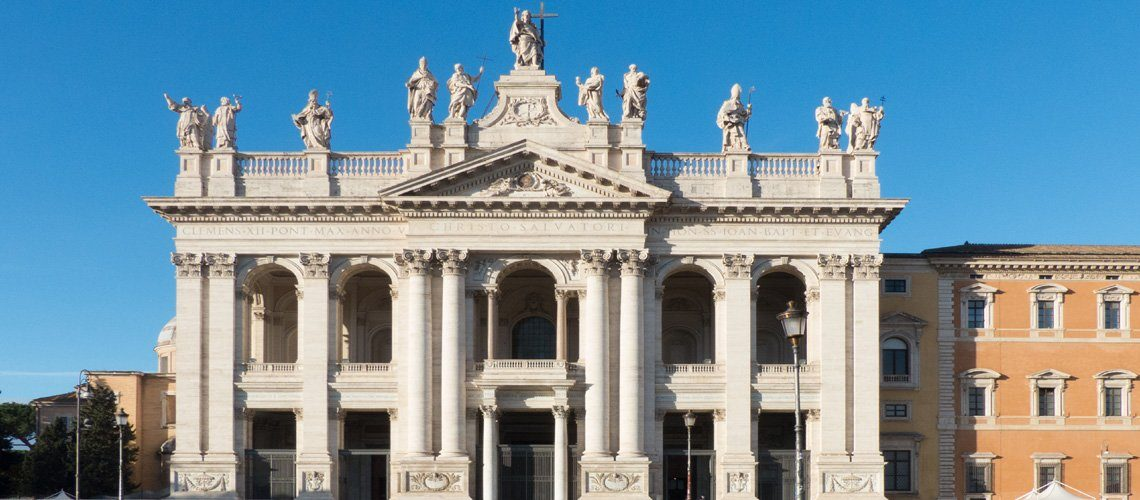Basilica of St John Lateran in Rome
