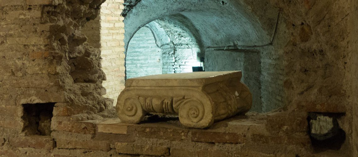Inside the Case Romane del Celio