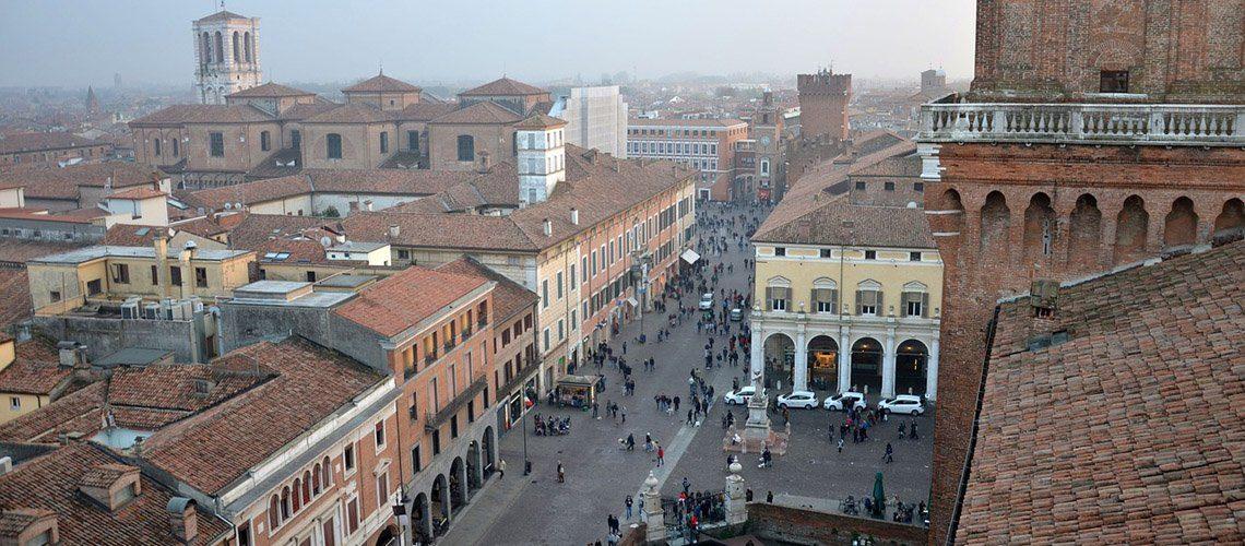 Ferrara historic centre