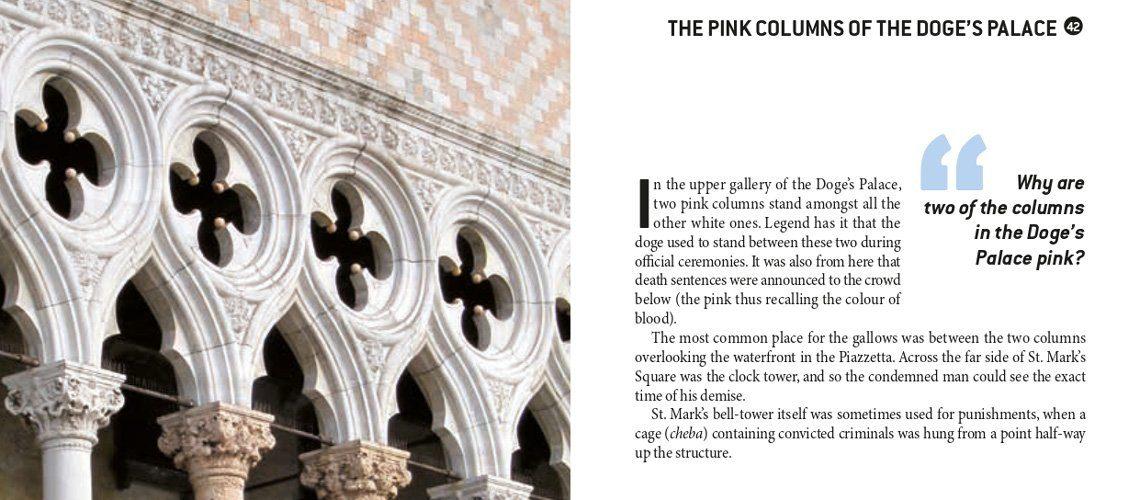 Pink columns