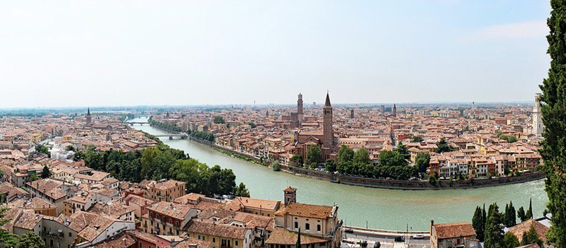 Verona and the River Adige